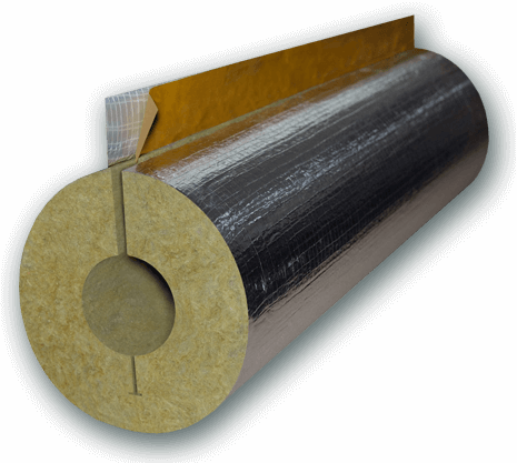 Roof rockwool board ecoin group for Mineral fiber pipe insulation
