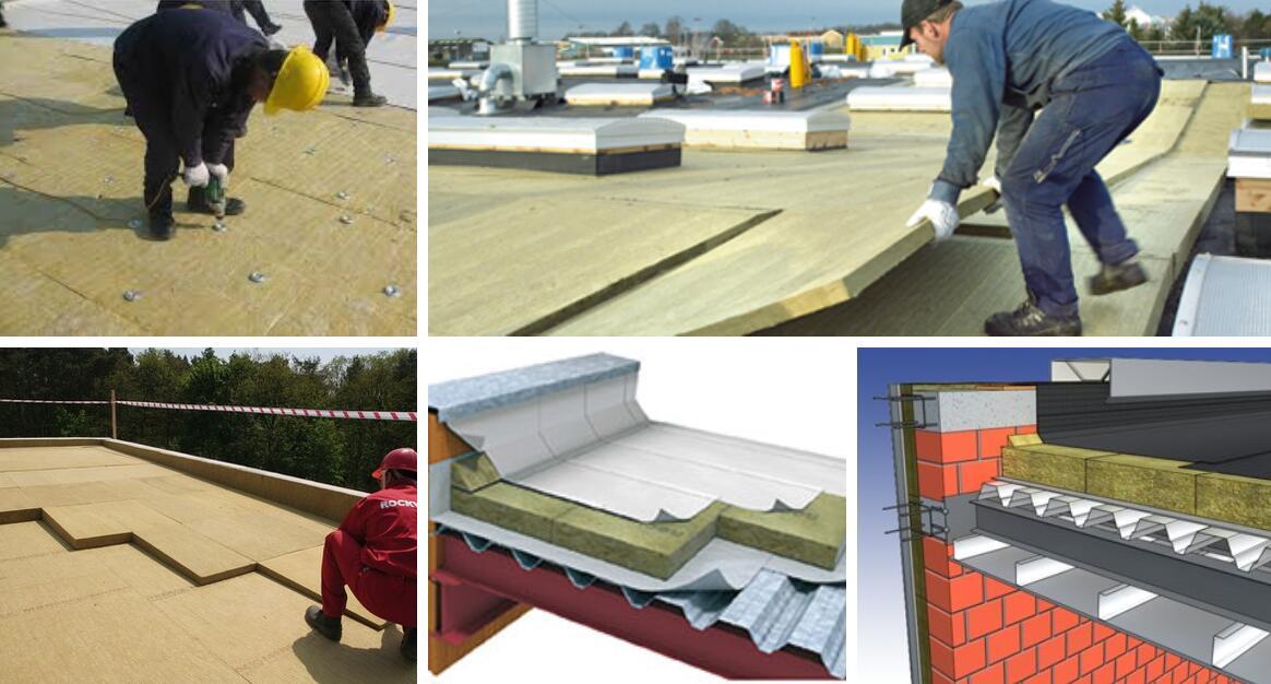 Roof Rockwool Board Ecoin Group