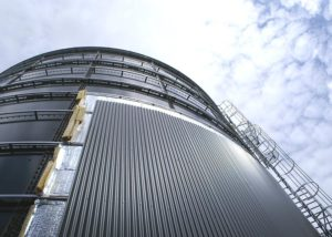 Corrugated Aluminum Cladding Sheet For Digester Tank